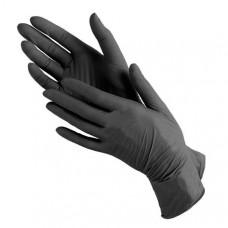 Перчатки Нитрил черные (50 пар)
