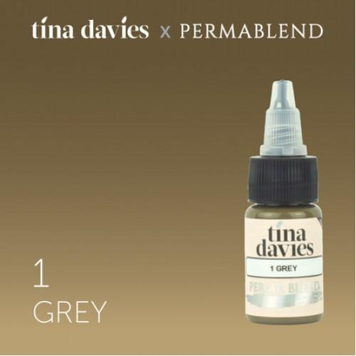 "Perma Blend ""Tina Davies 'I Love INK' 1 Grey"" 15 мл"