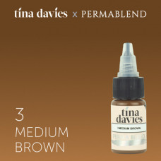 "Perma Blend ""Tina Davies 'I Love INK' 3 Medium Brown"" 15 мл"
