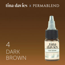 "Perma Blend ""Tina Davies 'I Love INK' 4 Dark Brown"" 15 мл"